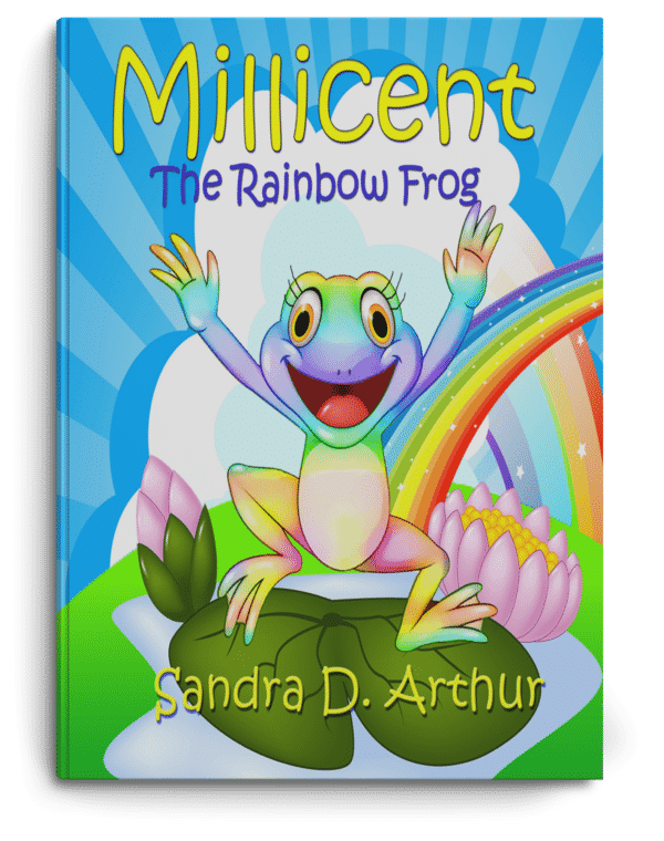 Millicent the Rainbow Frog